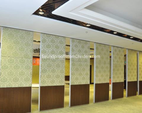 Folding Room Dividers Type 65 Soundproof Room Dividers