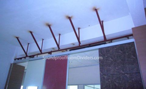 hanging dividers soundproof room dividers. Black Bedroom Furniture Sets. Home Design Ideas